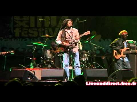 JULIAN MARLEY & THE UPRISING BAND - 2011 05 28 @ CERGY L ile aux mix festival