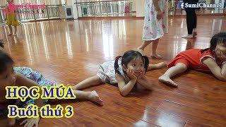 Bé Sumi Đi Học Múa Buổi Thứ 3 Học Uốn Dẻo | Nhật Ký Đi Học Của Bé Sumi