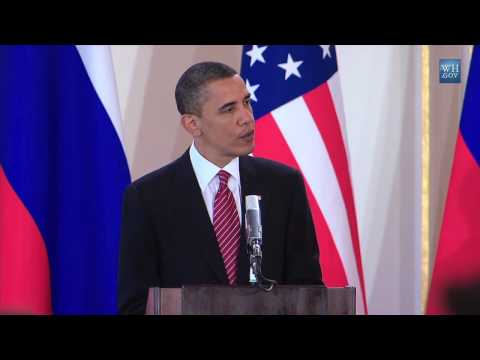 Obama Signs START Treaty With Russians