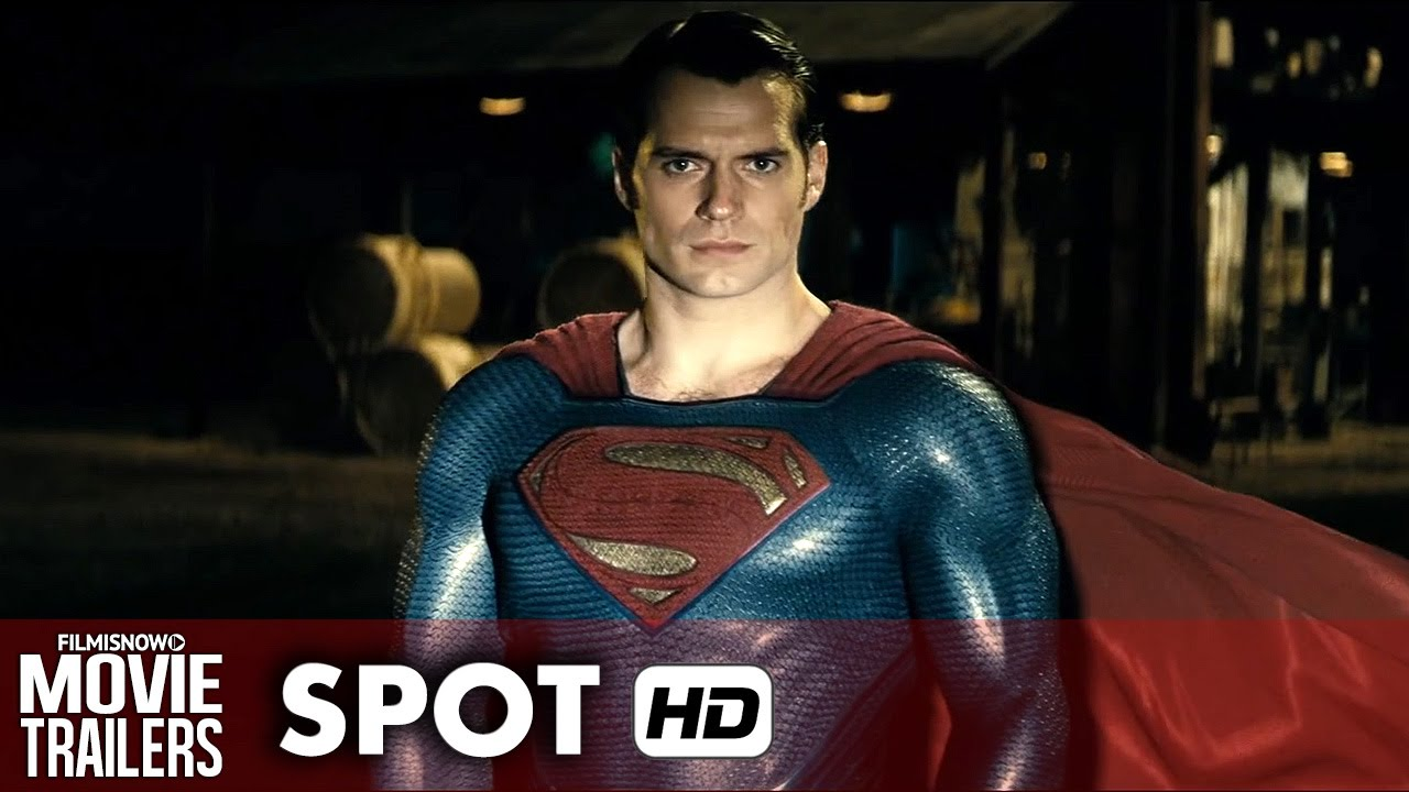 BATMAN V SUPERMAN: DAWN OF JUSTICE - TV Spot #1 [HD]