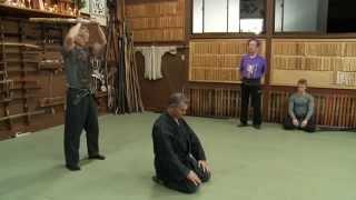 Ninja Godan Test (5th Degree Black Belt) Ninja Grandmaster Masaaki Hatsumi Sensei Bujinkan Ninjutsu