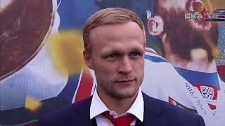 Евгений Кетов на чемпионском параде СКА