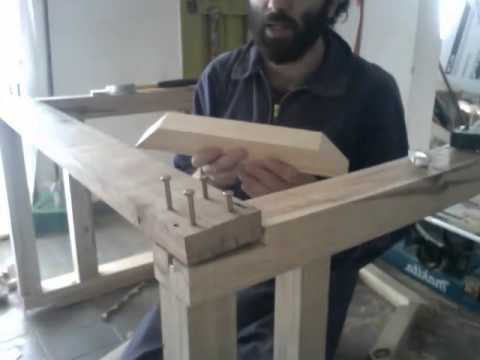 Construir una mesa de carpintero 5 youtube for Construir mesa de madera