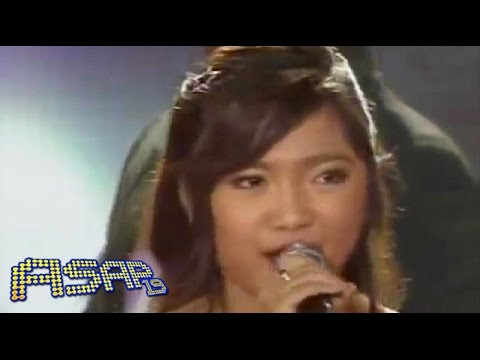 Charice sings 'One Moment in Time' on ASAP