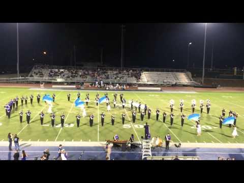 Hueytown High School Band Halftime 2014