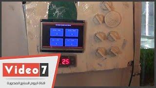 بالفيديو.. جهاز يضاعف كيلو الشعير 6 مرات مضافة بقيمة غذائية لعلف المواشى