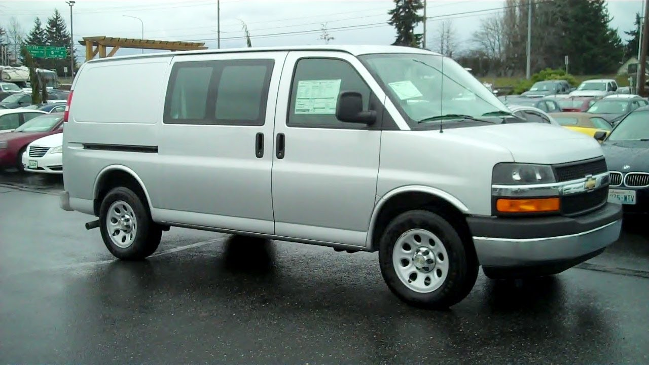 Everett Chevrolet >> 2014 Chevrolet Express Van G1500 AWD Vortec 5.3L V8 SPI Flex Fuel - YouTube