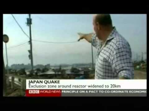 Japan 2011 Earthquake 12 - Search & Rescue Day 1 - BBC World News Reports 12.03.2011