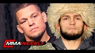 Dana White on Khabib vs Nate Diaz Confrontation in Arena at UFC 239