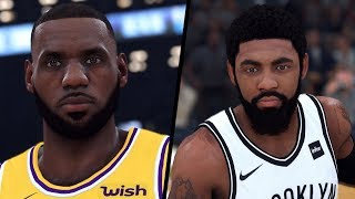 NBA 2K20 - Los Angeles Lakers vs. Brooklyn Nets - Full Gameplay