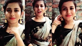 Vidhya (TikTok ID : @vidhya37)_Tamil Cute Girl Best Tamil Dubsmash Musically Tik Tok Videos in Tamil