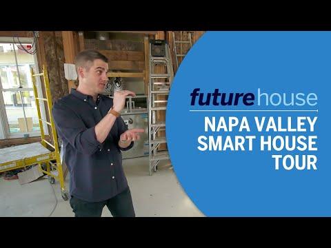 Future House   Touring a Napa Valley Smart House