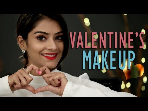 Valentine's Makeup   Valentine's Day Special Makeup   Makeup Tutorial   Foxy Makeup Tutorials