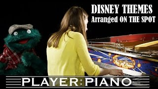 [Pianist listens to Disney Themes and Arranges Them On The Spot!] Video