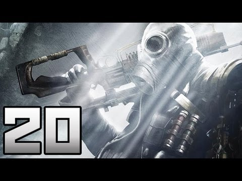 Let's Play Metro Last Light - 20 Der letzte Schwarze - German Deutsch Gameplay