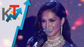TNT Celebrity Grand Champion finalist Roxanne Barcelo sings 'Diamonds Are Girls Best Friend'