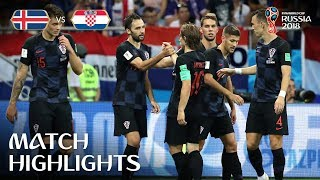 Iceland v Croatia - 2018 FIFA World Cup Russia™ - Match 40