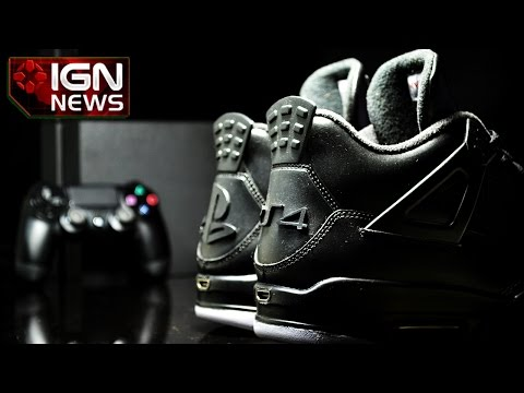 Introducing PS4 Air Jordan Sneakers, Complete With HDMI - IGN News