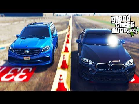 РЕАЛЬНАЯ ЖИЗНЬ В GTA 5 - УЧАСТВУЕМ ВМЕСТЕ С СЫНОМ В УЛИЧНЫХ ГОНКАХ НА BMW X6M! 🌊ВОТЕР