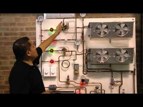 Refrigeracion comercial entrenamiento.