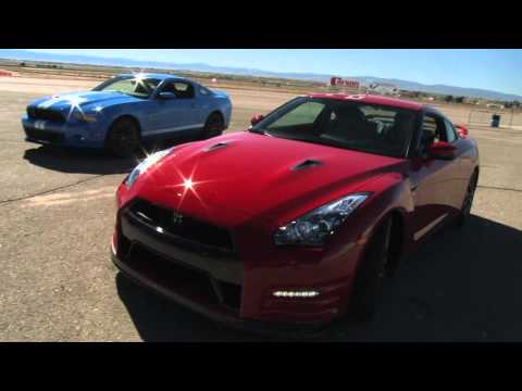 GT-R vs Z06 vs GT500: 5-Figure Supercar Shootout! Music Videos