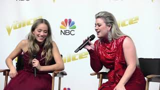 Download Lagu The Winner of 'The Voice' Season 14 is Brynn Cartelli, Team Kelly | The Voice Press Conference Gratis STAFABAND