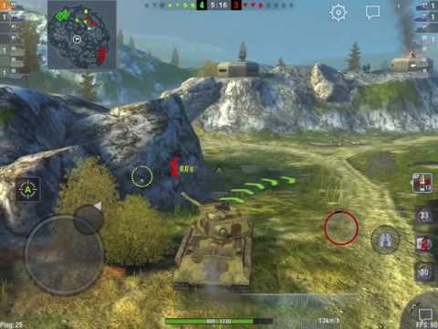 World of Tanks Blitz - IS-2: first games