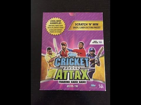 Cricket Attax Cards 2015 Ipl Ipl 2015/16 Topps Cricket