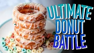 THE ULTIMATE DONUT BATTLE