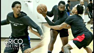 James Harden, Lou Williams, Buddy Hield, Pascal Siakam and MORE at Rico Hines Private Run