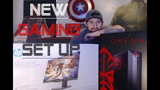 Unboxing HP Omen Obelisk Desktop 875-0024 | My New Gaming Set Up