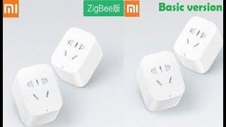 """???? Отличия Basic и ZigBee ver умных розеток Xiaomi, и """"умный дом"""""""