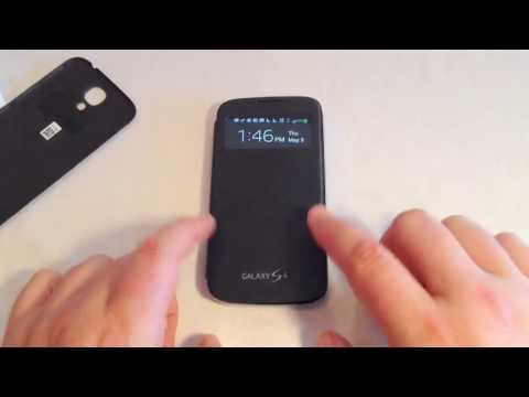 Samsung Galaxy S4 S-View Flip Cover Review