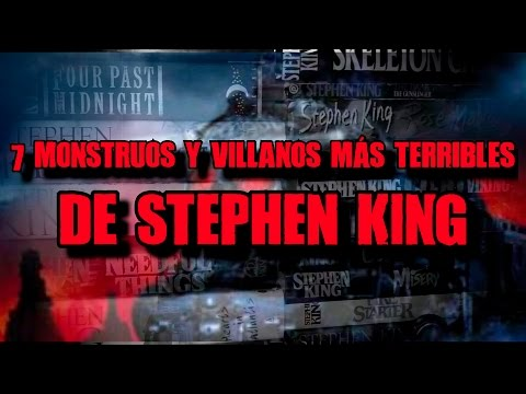 7 monstruos más terribles del Universo de Stephen King | DrossRotzank