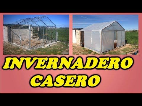 Invernadero Casero Materiales Invernadero Casero Con