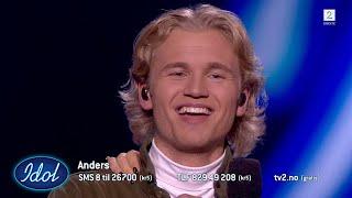 Anders tok Idol-studio med storm og drepte sin Arif cover | Idol Norge 2018