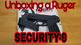 Unboxing a Ruger SECURITY-9
