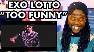 EXO 엑소 'Lotto' MV   DOPE, YET FUNNY   REACTION!!!