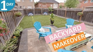 Backyard Makeover in a Day | Scott's House Call S2(EP 9)