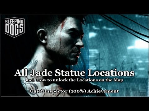 Sleeping Dogs - All Jade Statue Locations - Achievement - Trophy - Guide - HD thumbnail