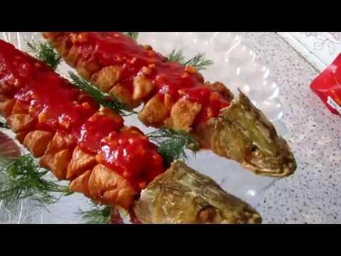 Рыба Виноград Старославянский рецепт #shish312