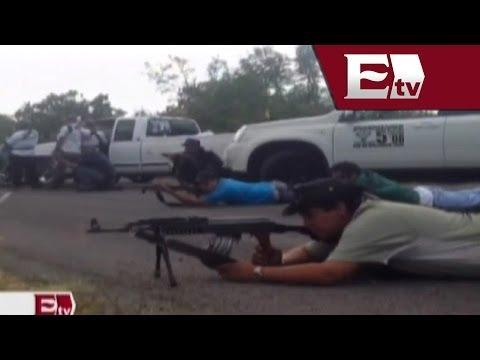 Autodefensas toman Nueva Italia Michoacán bastión de los Templarios Titulares de la tarde