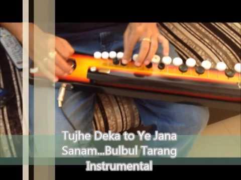 Tujhe Dekha To Ye Jana  Bulbul Instrumental Arun Vedula