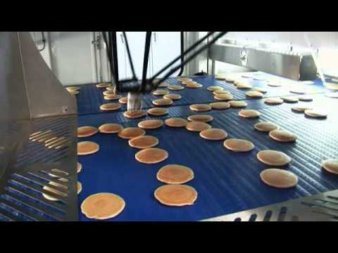 Abb Robotics Picking Pancakes Youtube