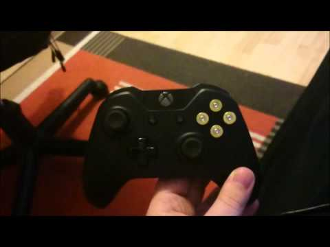 Xbox One Controller mit  9mm Patronen  Buttons