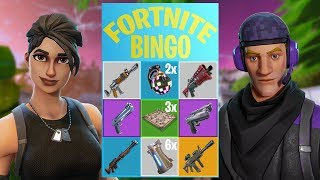 BINGO MINI-GAME // Ryan vs. Yarasky  - Fortnite: Battle Royale PLAYGROUND (Nederlands)