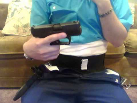 Belly Band Holster Review PPS