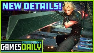 FFVII Remake New Details - Kinda Funny Games Daily 06.20.19