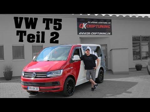 OK-Chiptuning - VW T5 Teil 2 | Der Umbau geht weiter.....