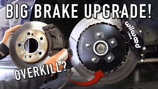 The 240SX Gets A Massive Big Brake Upgrade!